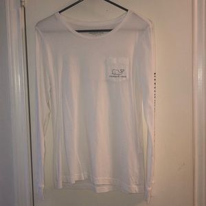 Vineyard Vines white long sleeve tee